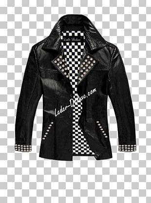 Leather Jacket Bugatti GmbH Coat PNG