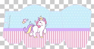 Unicorn Party Paper Birthday Being PNG