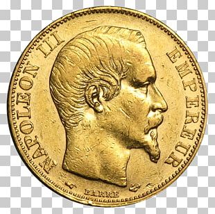 Gold Coin Sovereign Bullion Coin PNG