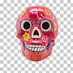 Skull Day Of The Dead Mexican Cuisine Ceramic Festival Of The Dead PNG