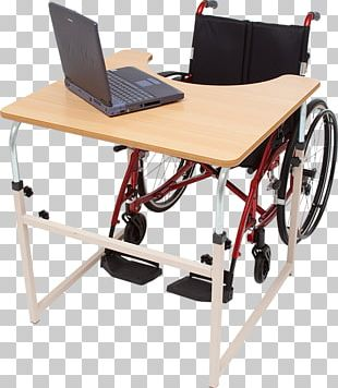 Standing Desk Table Wheelchair Furniture PNG