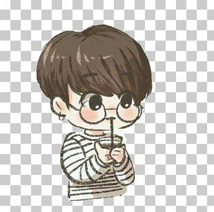 BTS Drawing Fan Art RUN PNG