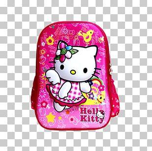 Backpack Bag Child Woman Kindergarten PNG
