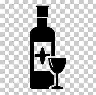 Italian Wine Wine Glass Red Wine Bottle PNG