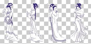 Diaochan Romance Of The Three Kingdoms Yue Four Beauties Bijin PNG