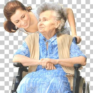 Wheelchair Disability Old Age Caregiver Home Care Service PNG