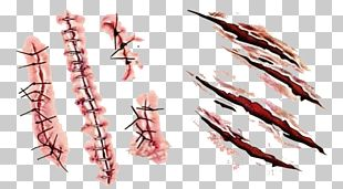 Scar Tattoo Wound Blood PNG