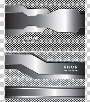 Silver Technology Background PNG