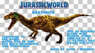 Velociraptor Baryonyx Jurassic Park: The Game Carnotaurus Tyrannosaurus PNG