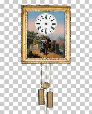 Cuckoo Clock Mantel Clock Antique Ormolu PNG