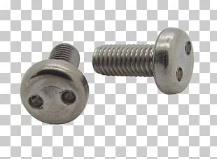 ISO Metric Screw Thread Fastener PNG
