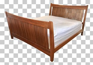 Bed Frame Mattress Hardwood Design Couch PNG