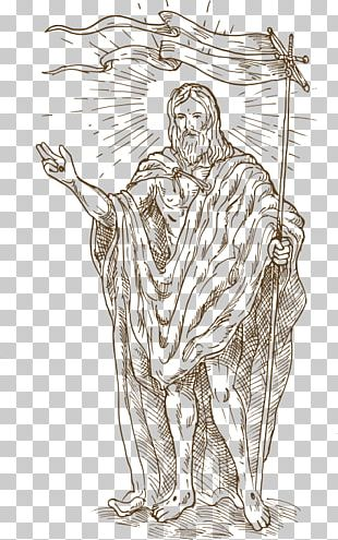 Resurrection Of Jesus Illustration PNG