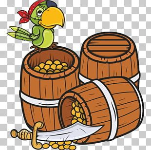 Buried Treasure Cartoon Drawing Piracy PNG