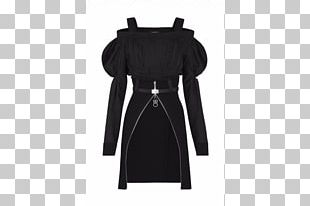 Shoulder Outerwear Product Sleeve Black M PNG