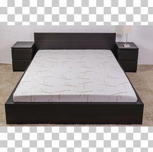Bed Frame Mattress Pillow Box-spring Foam PNG