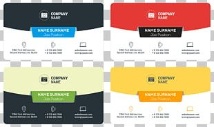 Logo Business Card Advertising PNG