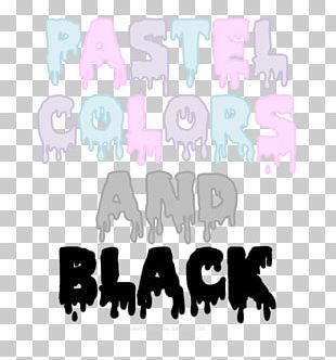 Pastel Color Aesthetics Gothic Fashion Drawing PNG