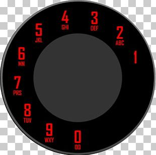 Rotary Dial Auto Dialer Telephone Call PNG