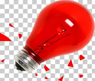 A-series Light Bulb Red Transparency And Translucency PNG