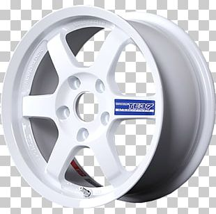 Alloy Wheel Rays Engineering Tire ET PNG
