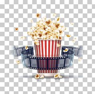 Popcorn Film Stock Illustration Cinema PNG