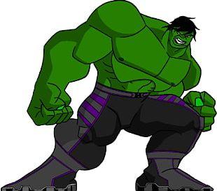 Hulk Cartoon Superhero Animated Series Drawing PNG
