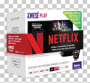 Roku South Africa Kwesé Sports Streaming Media Digital Media Player PNG