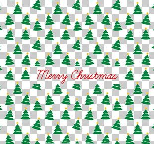 Paper Christmas Tree Pattern PNG