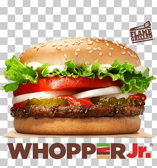 Whopper Hamburger Chicken Sandwich French Fries Big King PNG