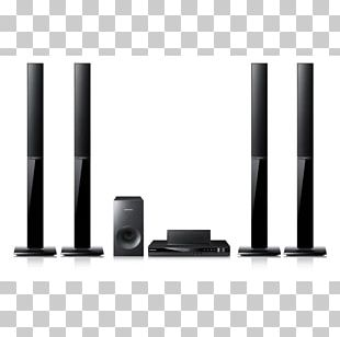 Home Theater Systems Blu-ray Disc Samsung HT-E350 5.1 Surround Sound PNG