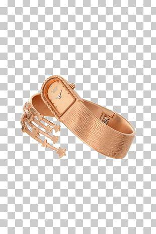 Analog Watch Woman Bracelet Strap PNG