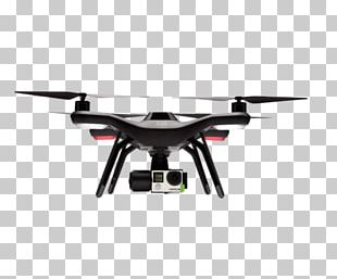 3D Robotics Unmanned Aerial Vehicle 3DR Solo Quadcopter Gimbal PNG