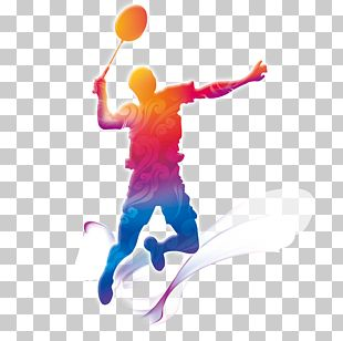 Badminton Motion Graphics PNG