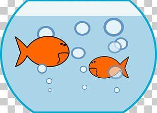 Black Telescope Fish Aquarium PNG