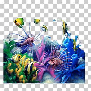 Desktop Fish Aquarium 3D Computer Graphics 1080p PNG