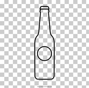 Beer Bottle Drawing Glass Coloring Book PNG