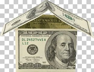Money House Dollars PNG