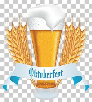 Oktoberfest Wheat Beer Beer Glassware PNG