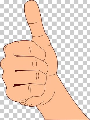 Thumb Signal Like Button PNG