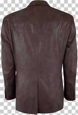 Leather Jacket Blazer PNG