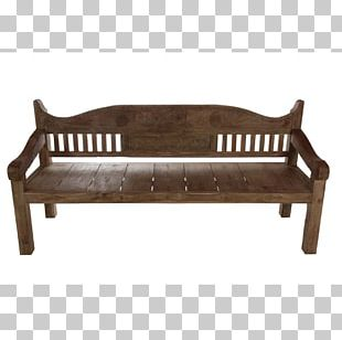 Couch Wood Bed Frame Bench Product Design PNG