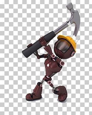 Hammer Robot PNG