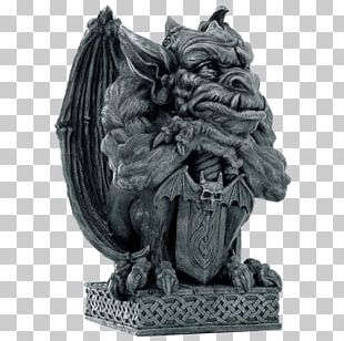 Gargoyle Statue Sculpture Figurine Gothic Architecture PNG
