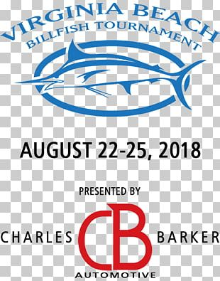 Virginia Beach Billfish Tournament Logo Brand Font Line PNG