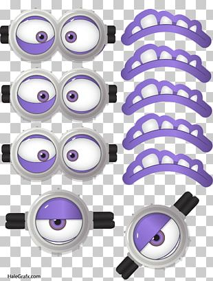 Evil Minion Minions Face Mask Eye PNG