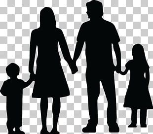 Family Silhouette Daughter Father PNG