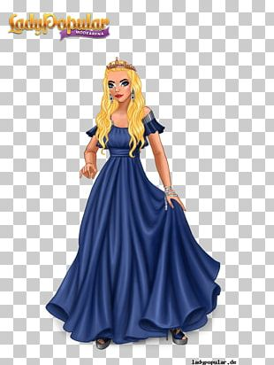 Lady Popular Fashion XS Software Game Dress PNG