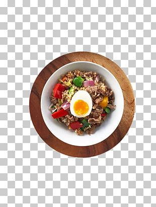 Kimchi Fried Rice Fried Egg French Fries PNG