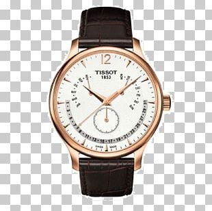 Watch Tissot Jewellery Strap Chronograph PNG